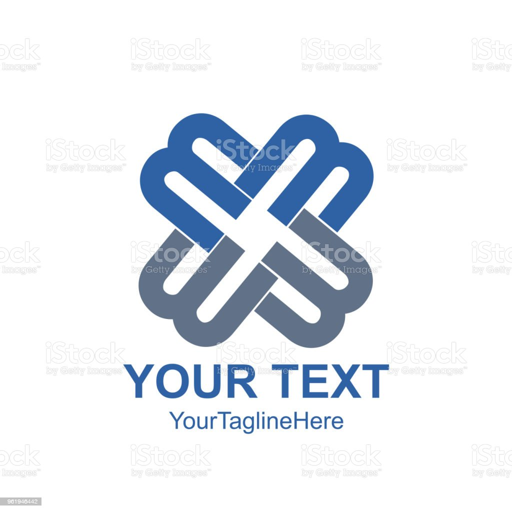 Creative Abstract Letter M Vector Logo Design Template Element