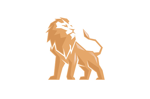 Creative Abstract Lion symbol