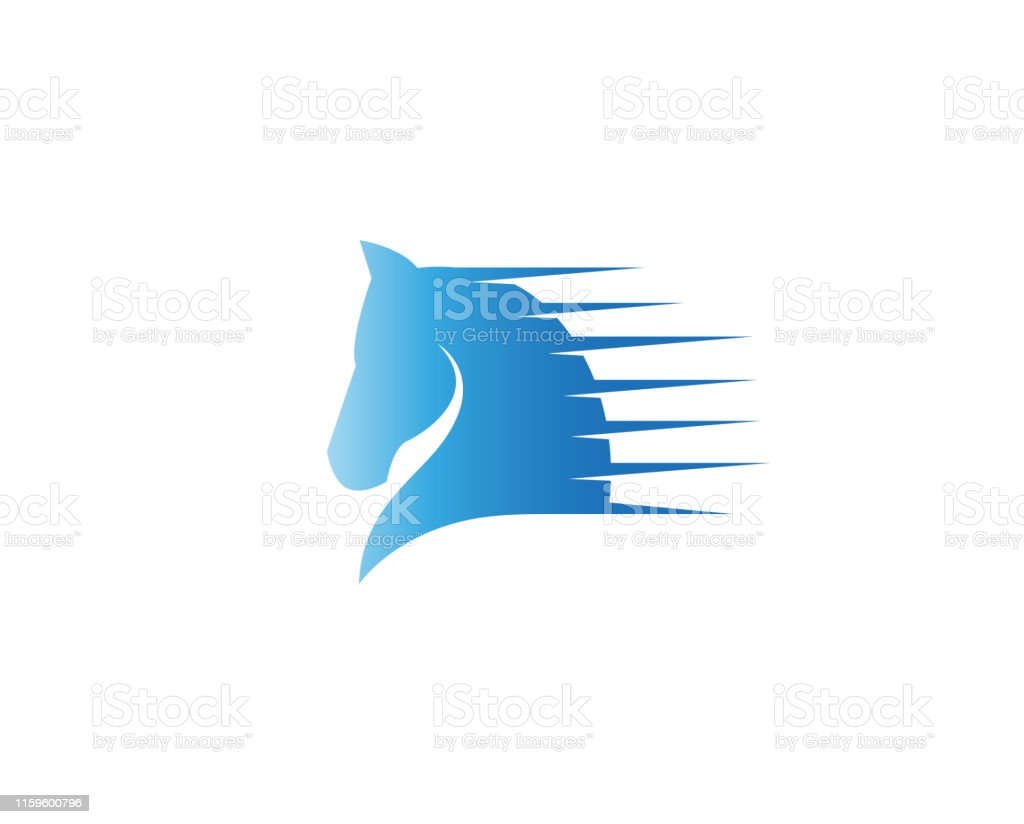 Creative Abstract Speed Horse Logo Design Vector Symbol Illustration Stock Illustration Download Image Now Istock