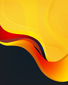 Creative Abstract Template Design and Gradient Background