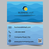 Creative and Clean Double-sided blue Business Card Template. Gold Colors. Flat Design Vector Illustration. Stationery Design. Can be adapt to Brochure, Annual Report, Magazine Poster, business card.Creative and Clean Double-sided blue Business Card Template. Gold Colors. Flat Design Vector Illustration. Stationery Design. Can be adapt to Brochure, Annual Report, Magazine Poster, business card.