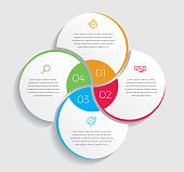 Creative and minimalist infographic design