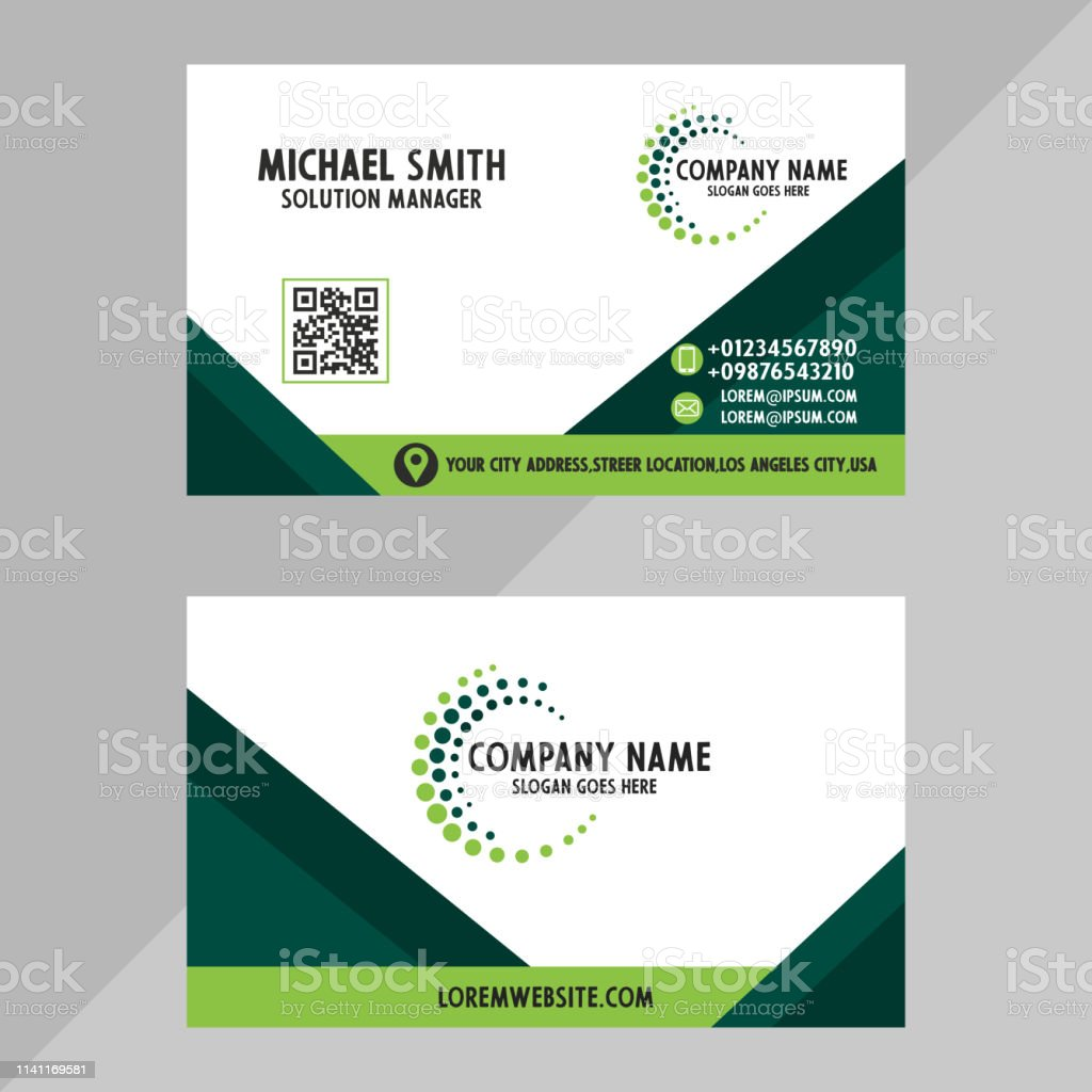 Creative And Professional Business Card Design Clean