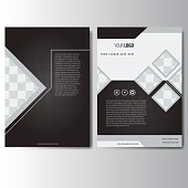 Creative annual report Leaflet Brochure Flyer template A4 size