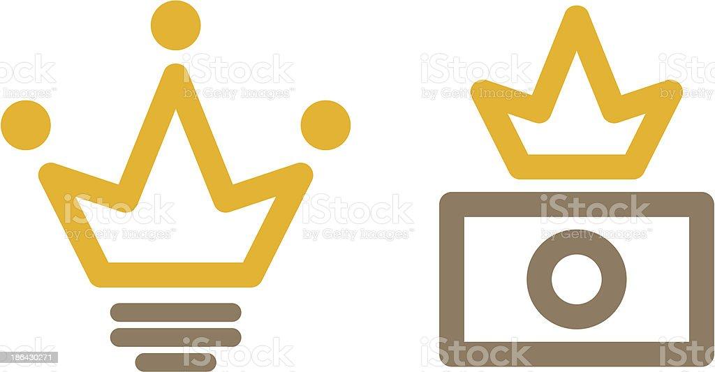 Creative avatars royalty-free stock vector art