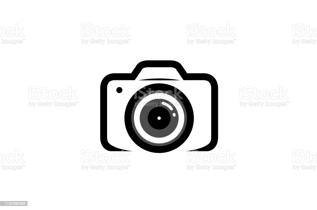 Creative Black Camera Logo Design Symbol Vector Illustration Stock Illustration Download Image Now Istock