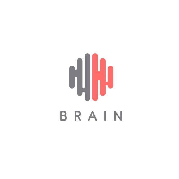 Creative brain abstract vector  design template. Brain icon. Vector illustration vector art illustration