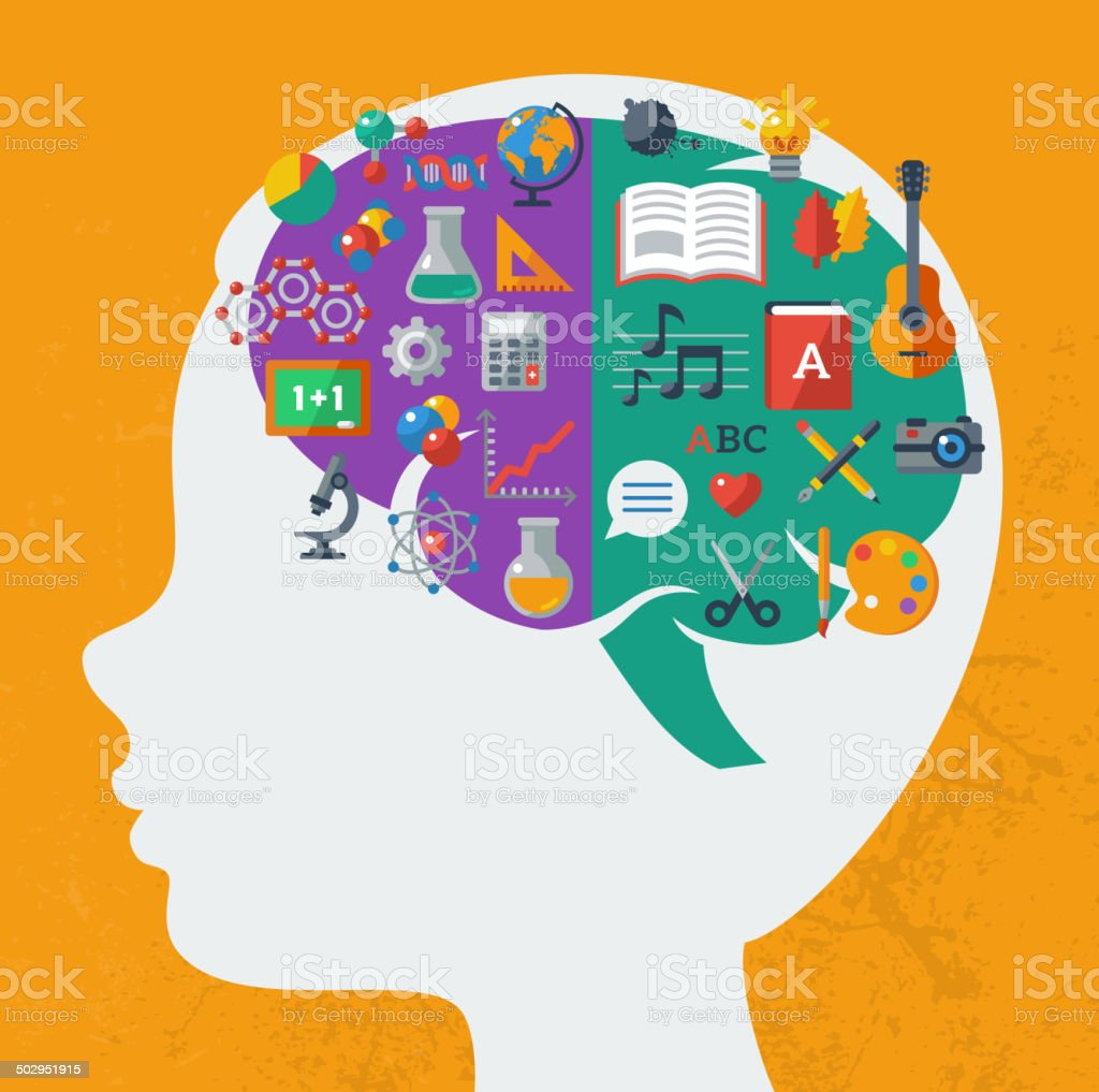 Creative Brain Idea Royalty Free Stock Vector Art Amp More