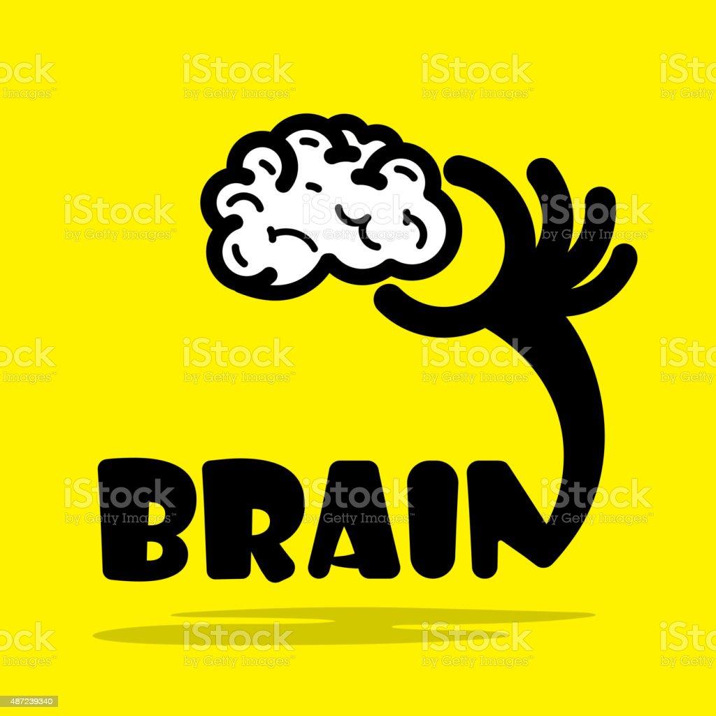 Creative Brain Sign Ideaflat DesignConcept Of Ideas Inspiration Royalty Free Stock