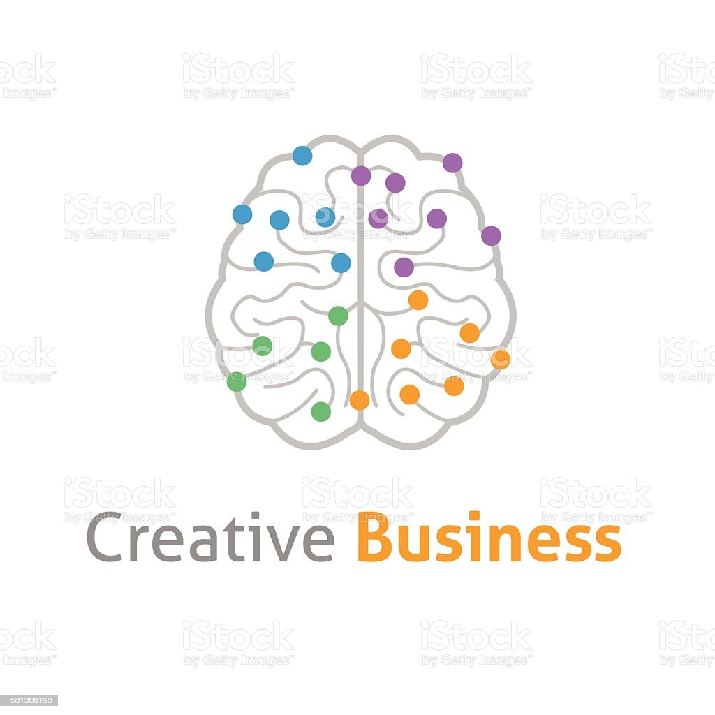 Creative brain symbol icon stock vector art more images of 2015 creative brain symbol icon royalty free creative brain symbol icon stock vector art amp biocorpaavc Images