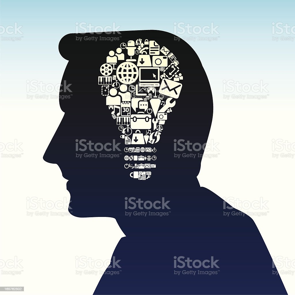 Creative Brain royalty-free creative brain stock vector art & more images of adult