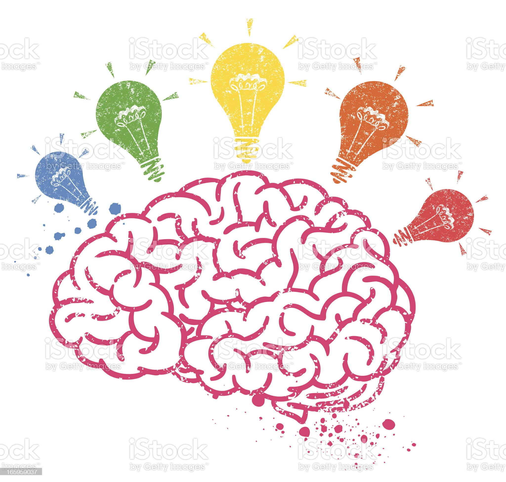 Creative Brain royalty-free creative brain stock illustration - download image now