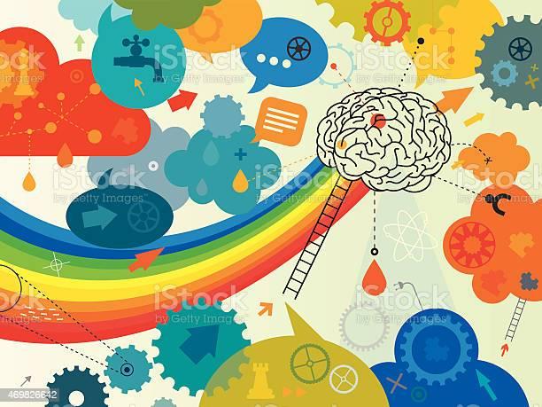 Creative brain vector id469826642?b=1&k=6&m=469826642&s=612x612&h=vbdkfq42 7j31jgqrcijgisihn 9jkie7xg0m8lf pk=