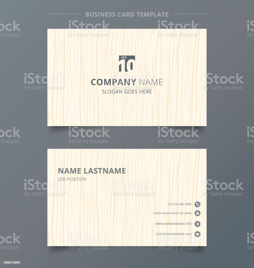 Creative business card and name card light brown wood pattern creative business card and name card light brown wood pattern background template concept and commercial design reheart Image collections