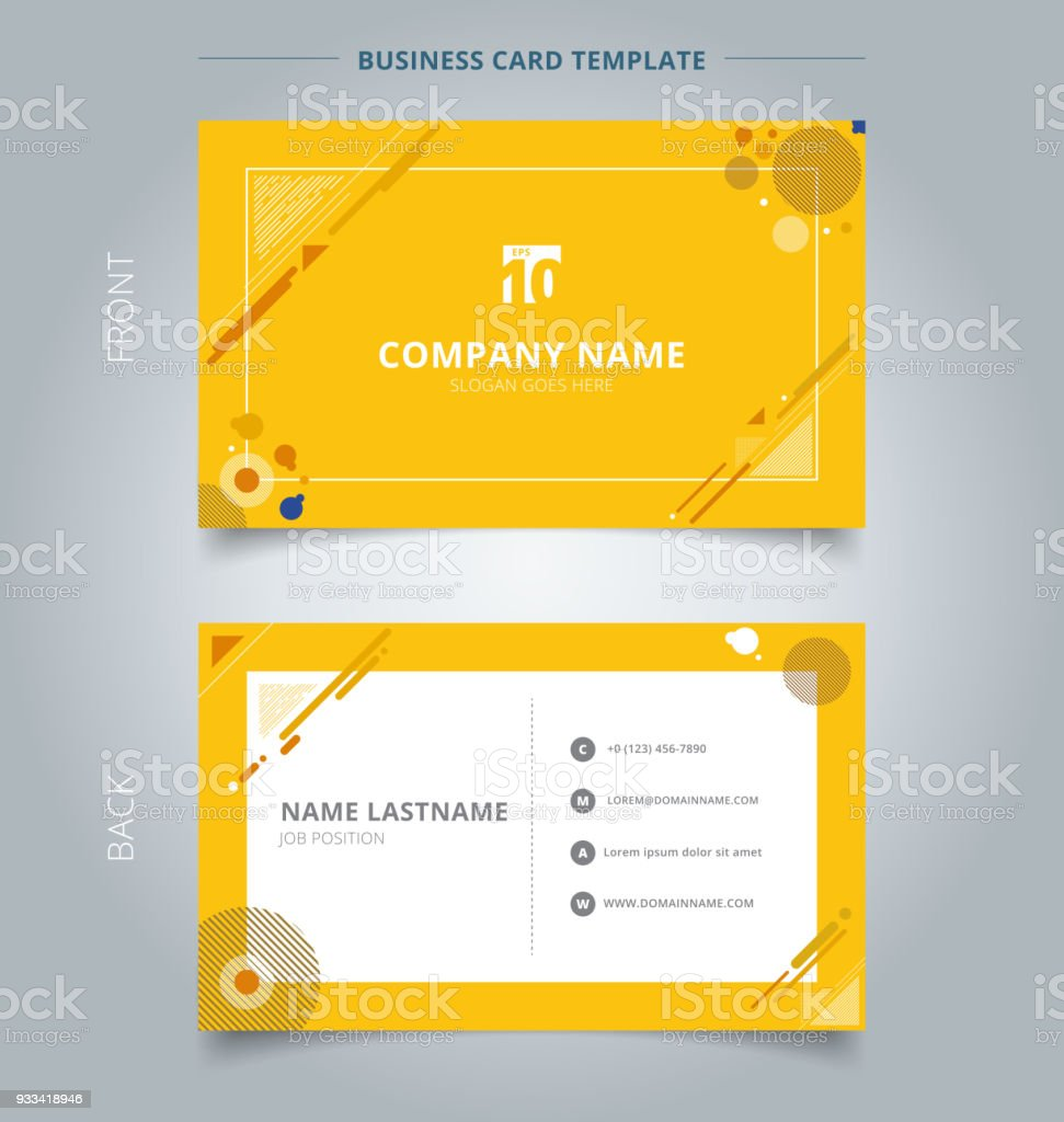 Creative business card and name card template geometric composition creative business card and name card template geometric composition forms modern background with decorative triangles colourmoves