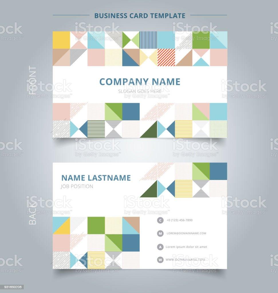 Kreative Visitenkarte Und Name Karte Vorlage Moderne