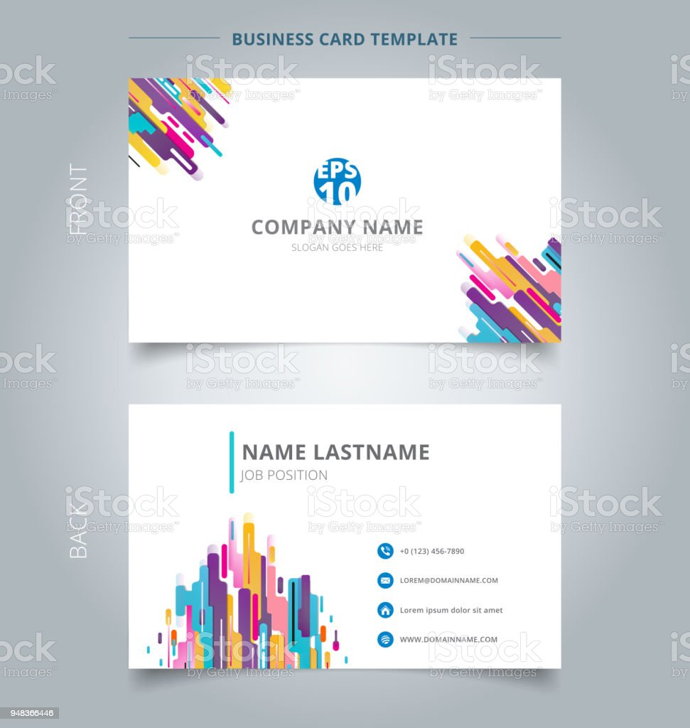 Creative Business Card And Name Card Template Modern Style ...