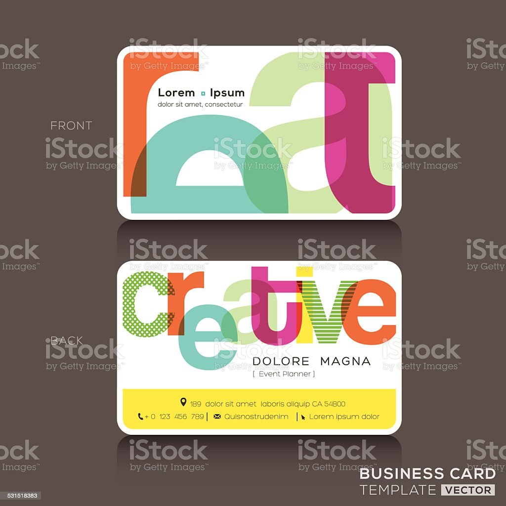 Creative business cards design template stock vector art 531518383 creative business cards design template royalty free stock vector art magicingreecefo Images
