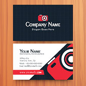 Creative business or visiting card design.