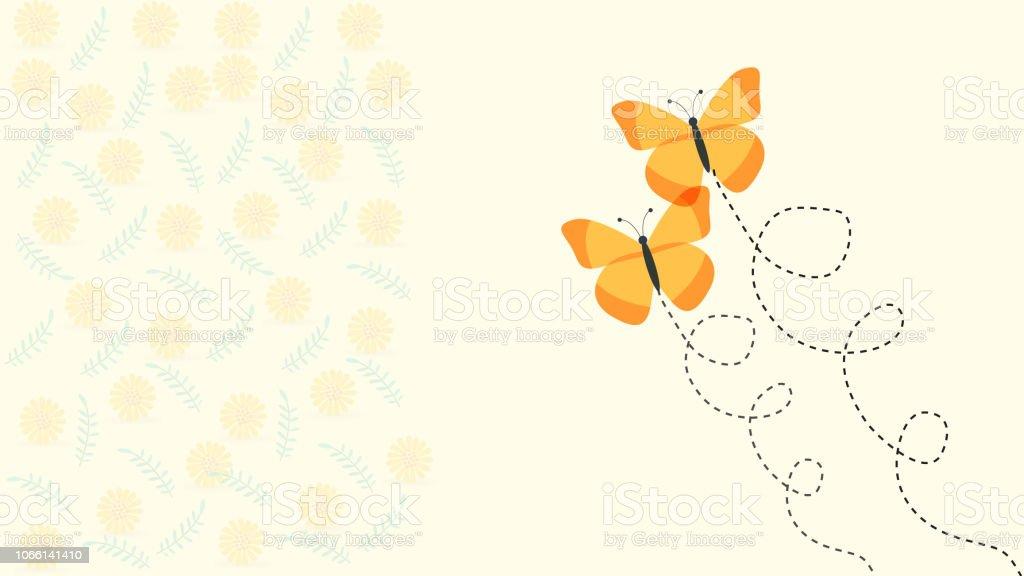 Creativo diseño del vector de la mariposa tarjetas - ilustración de arte vectorial