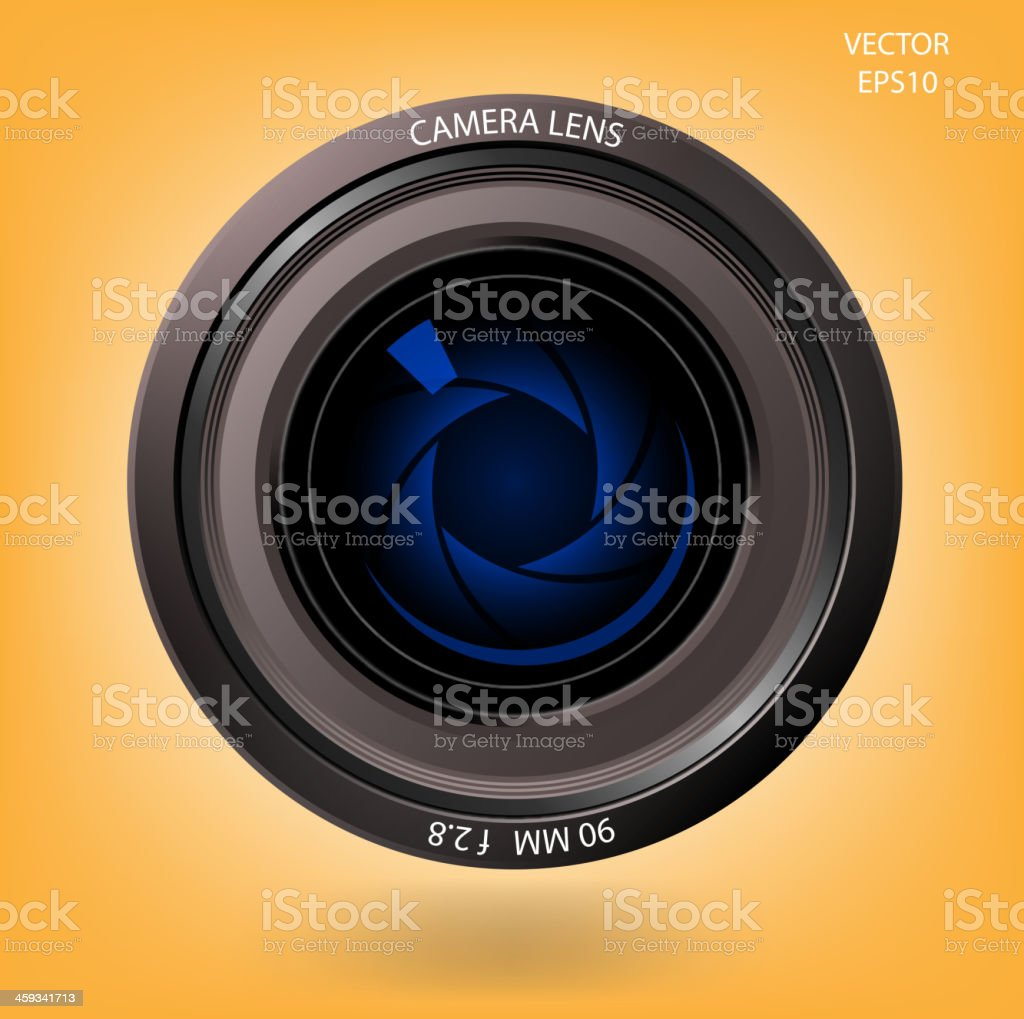 Creative camera lens sign royalty-free creative camera lens sign stock vector art & more images of abstract