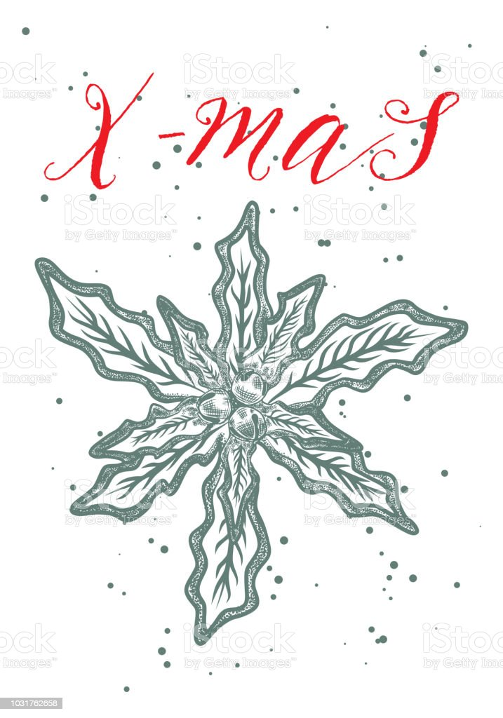 creative card or poster for christmas illustration template for