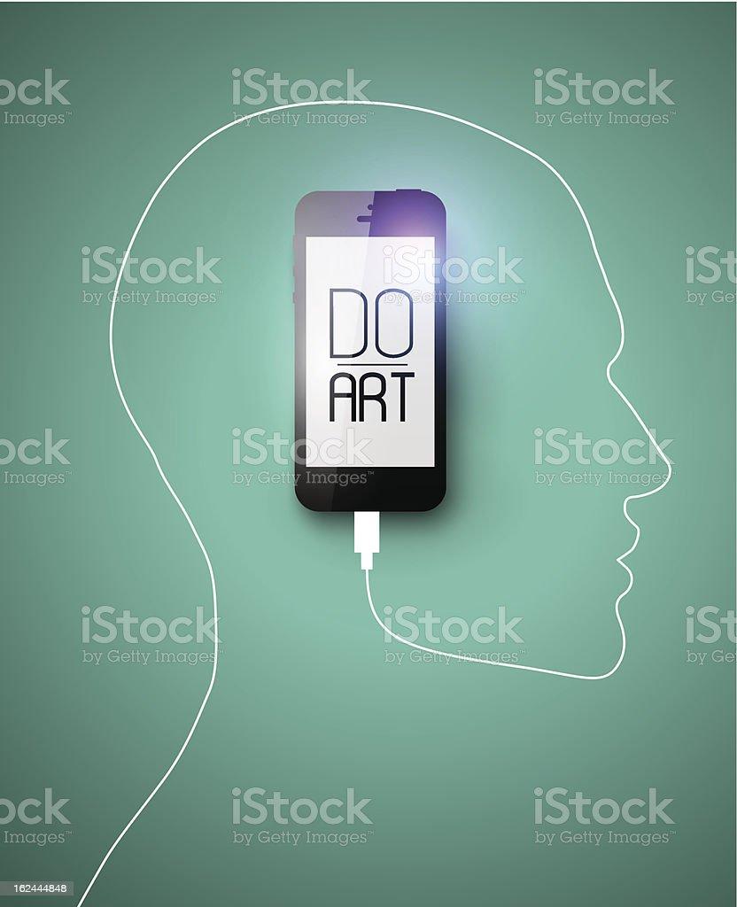 Creative concept. Eps10, vector illustration. royalty-free stock vector art