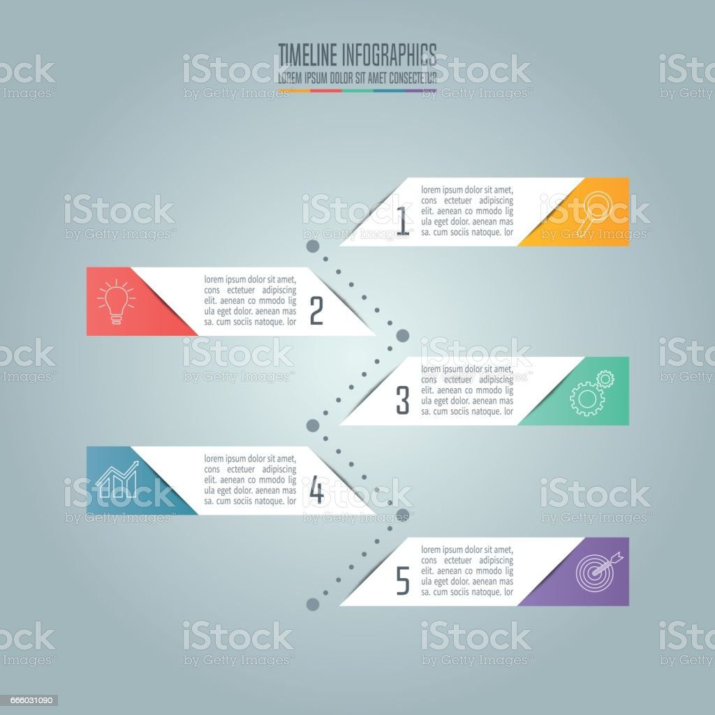 Creative Concept For Infographic Timeline Infographic Design Vector ...