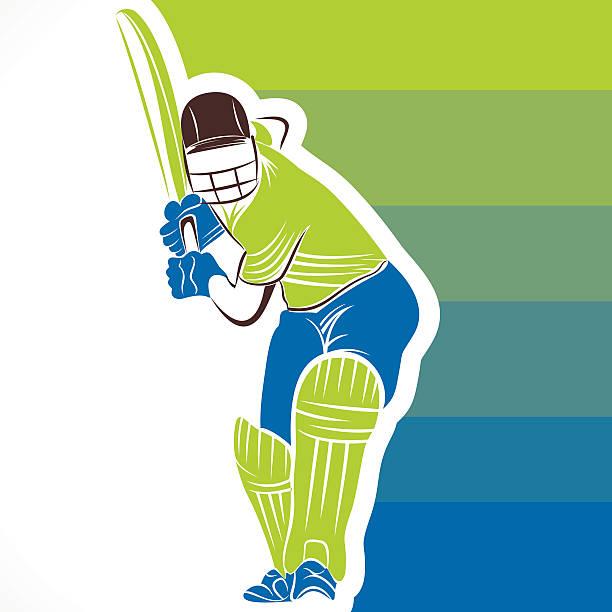 ilustraciones, imágenes clip art, dibujos animados e iconos de stock de creativo diseño de banner de críquet - críquet