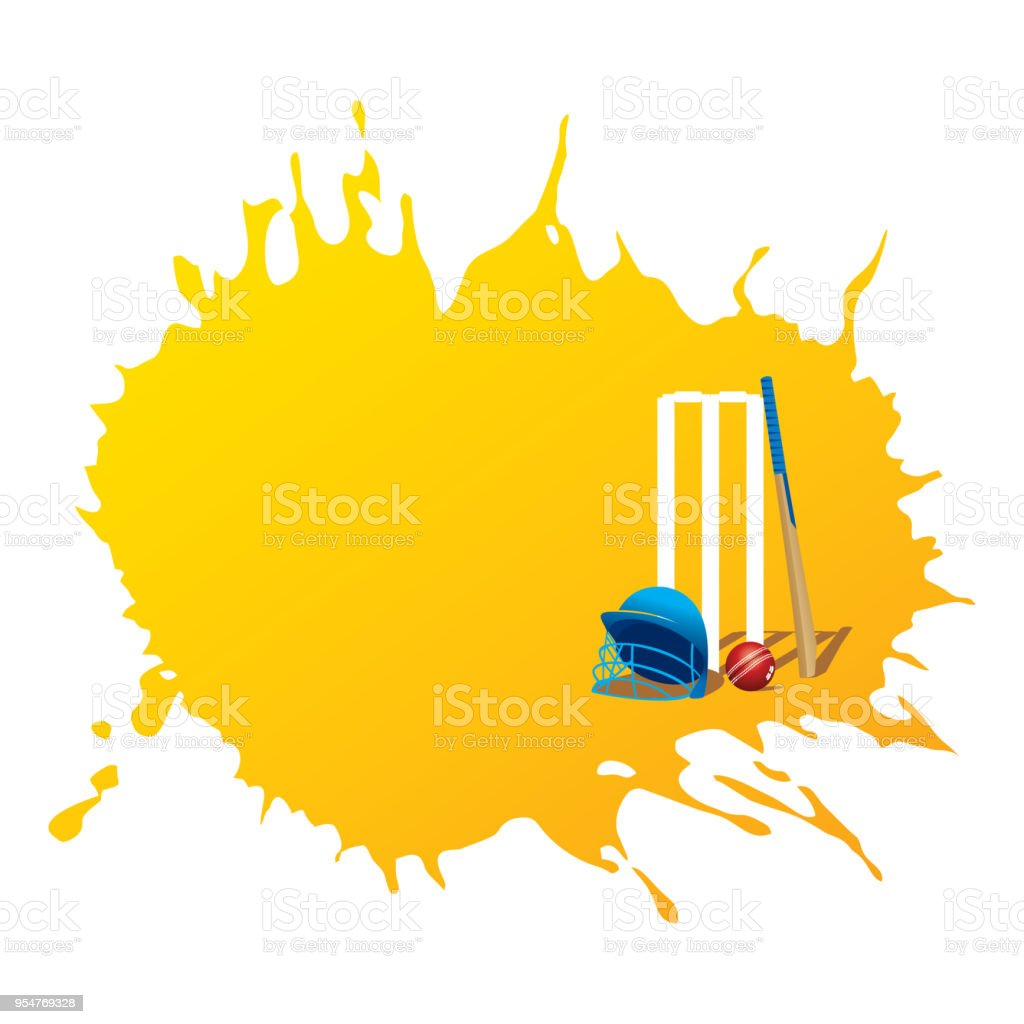 creative cricket promotion poster deign royalty-free creative cricket promotion poster deign stock illustration - download image now