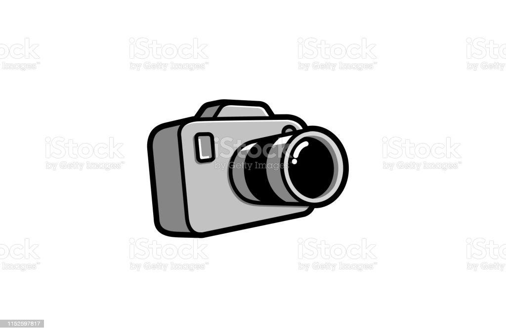 クリエイティブかわいいカメラロゴデザインシンボルベクトルイラスト アイコンのベクターアート素材や画像を多数ご用意 Istock