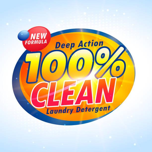 kreative waschmittelverpackungen produkt-design-vorlage - weichspüler stock-grafiken, -clipart, -cartoons und -symbole