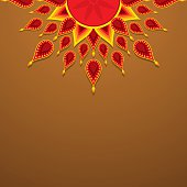 creative diwali greeting design