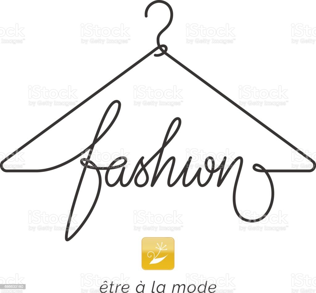 Creative Fashion Icon Design Stock Vector Art More Images Of Abstract 686633180 Istock