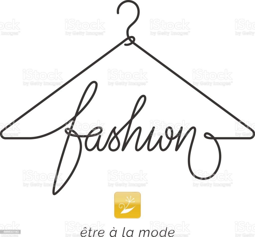 Creative Fashion Icon Design Stock Vector Art More