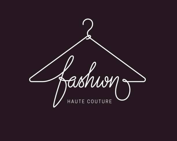 kreative mode-ikone-design - couture stock-grafiken, -clipart, -cartoons und -symbole
