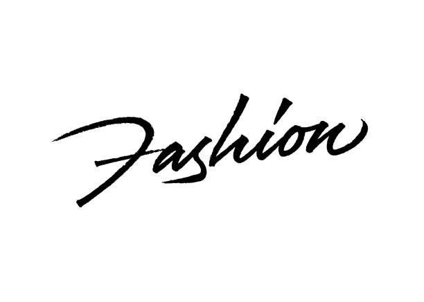kreative mode-logo-design - couture stock-grafiken, -clipart, -cartoons und -symbole