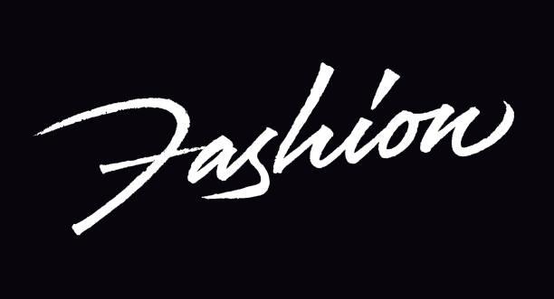 kreative mode-symbol-design - couture stock-grafiken, -clipart, -cartoons und -symbole