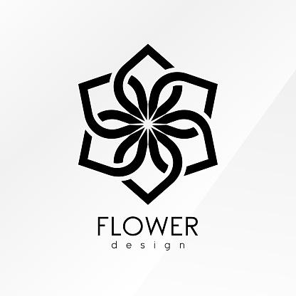 Creative flower inspiration design template