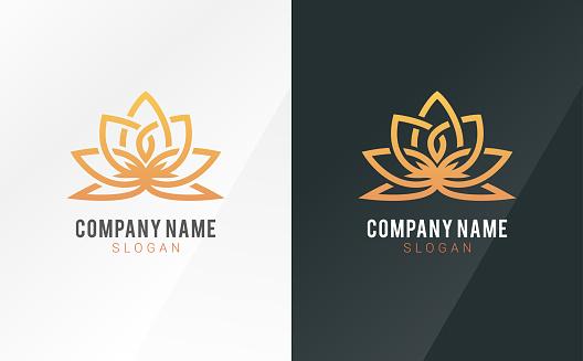 Creative Flower Inspiration Vector Logo Design