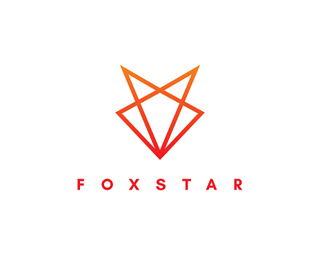 Creative fox logo design