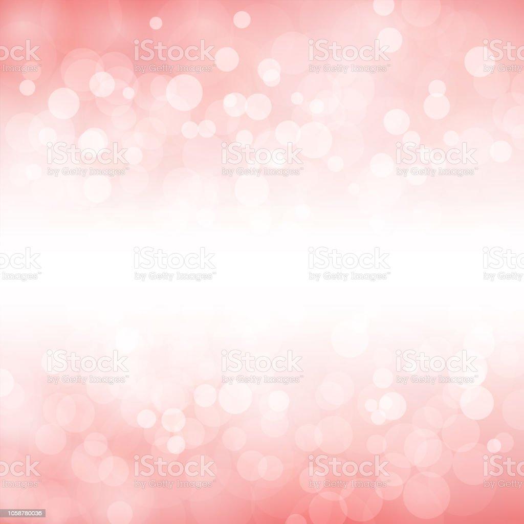 Un fond rose clair pailleté créatif. vecteur de Noël joyeux Illustration - Illustration vectorielle