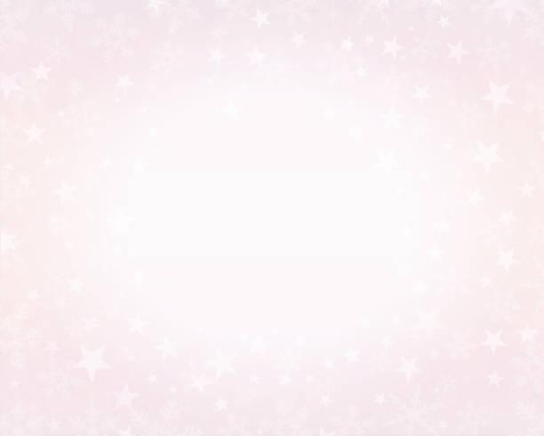 一個創造性的閃閃發光的粉紅色耶誕節背景。向量插圖 - 淺粉色 幅插畫檔、美工圖案、卡通及圖標