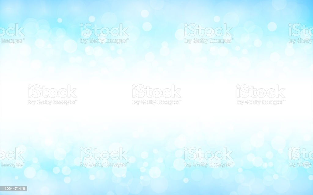 A Creative Glittery Sky Blue Background Vector Illustration Stock