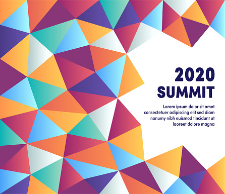 Creative Graphic Composition For Upcoming Summit