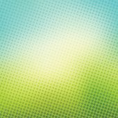 creative halftone in green blue background vector