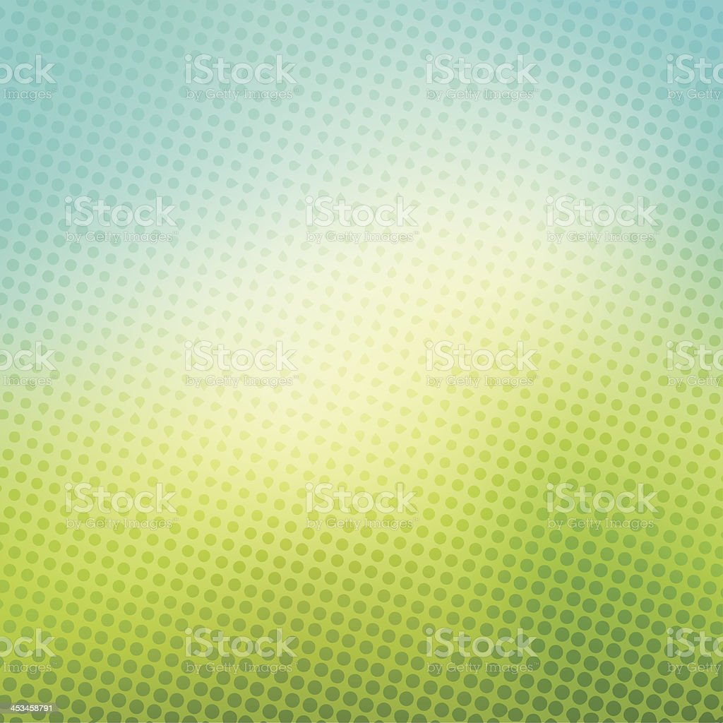 creative halftone background vector art illustration