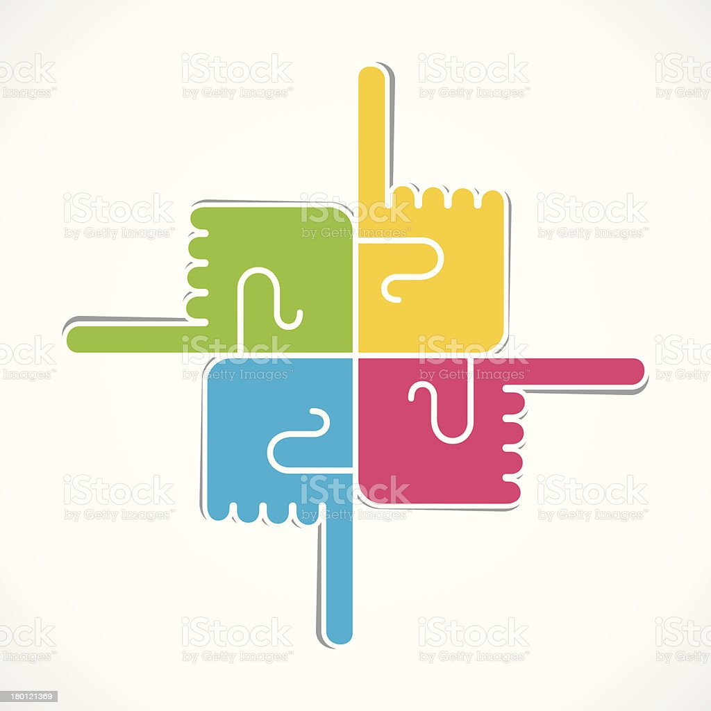 creative hand icon royalty-free creative hand icon stock vector art & more images of abstract