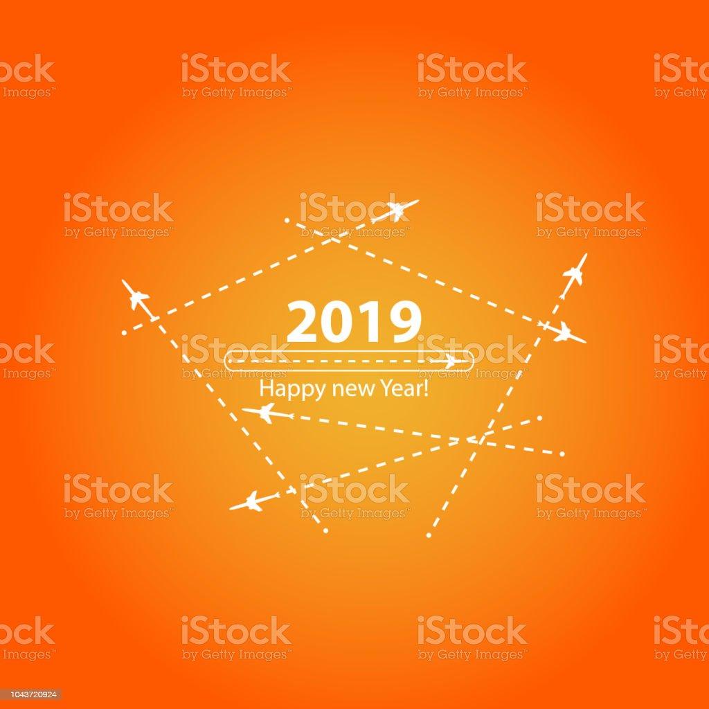 Happy New Year Orange 82