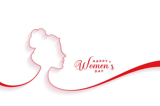 kreative glückliche Frauen Tag Event Banner Design – Vektorgrafik